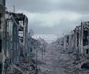 scenario, the mockingjay, and the hunger games image