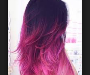 dyed, tumblr, and girl image
