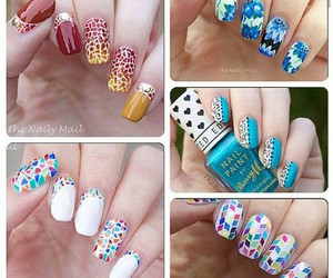 colors, cute, and nail art image