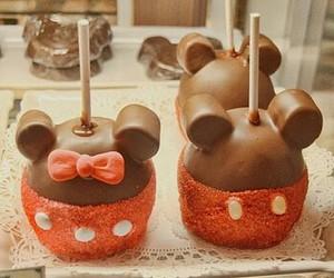 chocolate, food, and mickey image