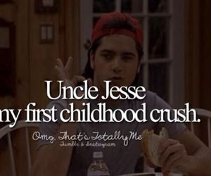 childhood, crush, and full house image