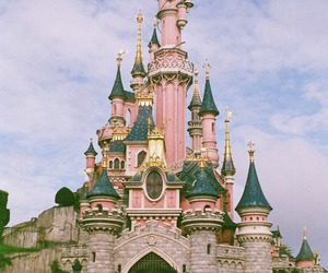 beautiful, disneyland, and pink image