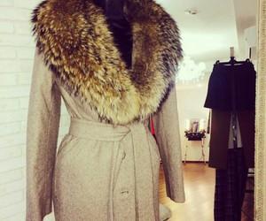 classy, coat, and luxury image