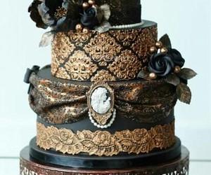 cake, dessert, and eat image