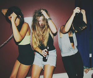 party, friends, and fun image