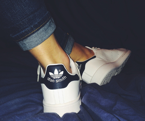 adidas, blue, and stan image
