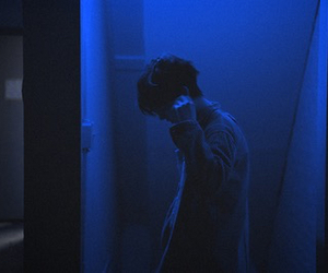blue, boy, and grunge image