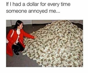 funny, lol, and dollar image