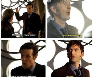 doctor who, round things, and tardis image