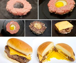 food, diy, and burger image