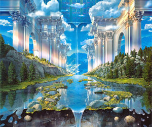 temple parallel world♥ image