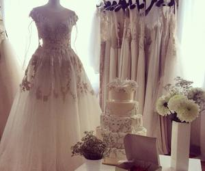 cake, dress, and fashion image