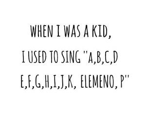 funny, kids, and alphabet image