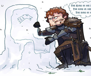 stark, robb, and game of thrones image