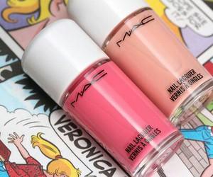 mac, pink, and fashion image