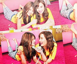 best friends, demi lovato, and forever image