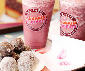 food, donuts, and dunkin donuts image