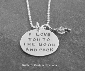 I Love You, necklace, and cute image