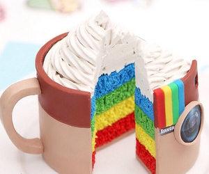 cake, cup, and pie image