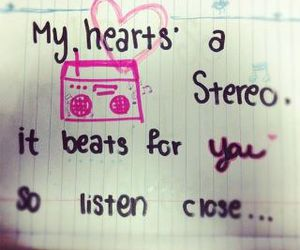 beat, heart, and Gym Class Heroes image