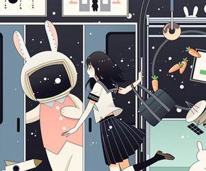 bunny, chicas, and dibujos image