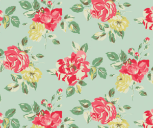 floral, flowers, and wallpaper image