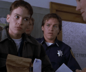film, hilary swank, and boys dont cry image