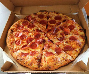 food, pizza, and yomi! image