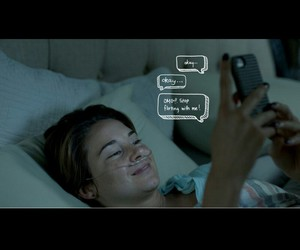 the fault in our stars and love image