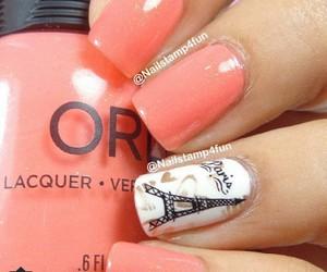 nails, nail art, and cute image