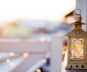 lamp, outside, and vintage image