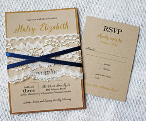 gold, rustic chic, and navy image
