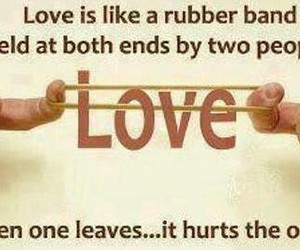 couple, love, and heart broken image