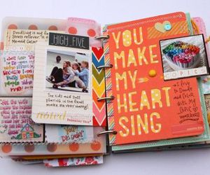lovely, scrapbook, and plan image