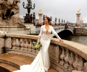 wedding, amazing, and dress image