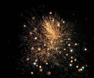 fireworks, happy new year, and NYE image