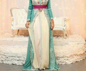 morocco and caftan image