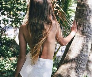 hair, nature, and bohemian image