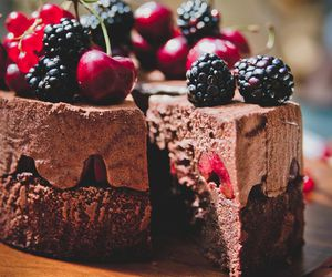 cake, chocolate, and recipes image