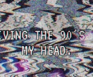 90s, head, and awesome image