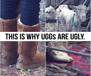 dead, uggs, and ugly image
