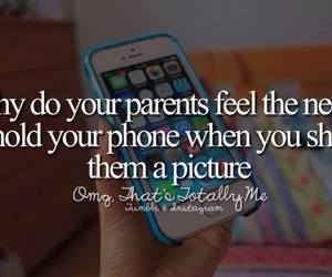 parents and phone image