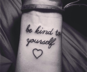 tattoo, heart, and yourself image