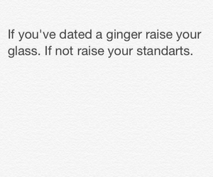 ginger, quote, and redhair image