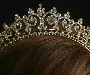 crown, pretty, and girl image