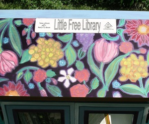 little free library! image