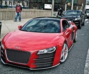 car, audi, and luxury image