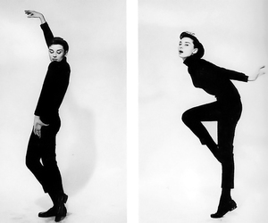 audrey hepburn, funny face, and dance image