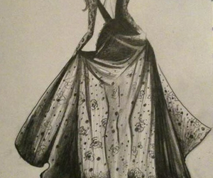 clothes, Couture, and draw image