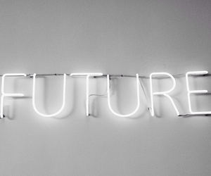 future, lights, and grunge image